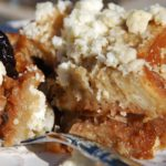 Pati Jinich capirotada or bread pudding recipe