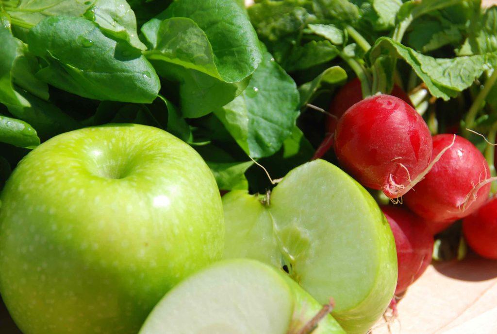 Apple Radish Watercress Salad 1