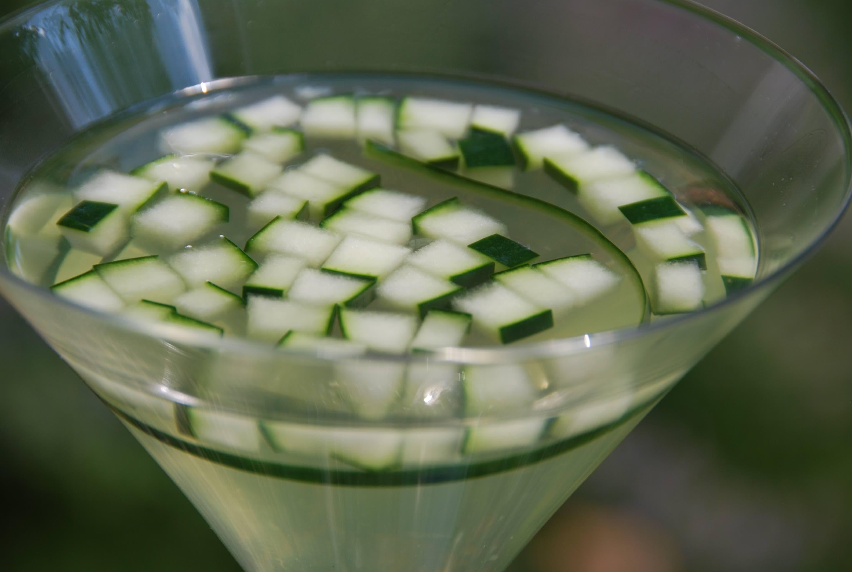 Cucumber Martini main