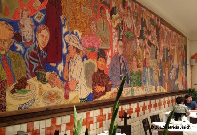 Pati jinich totally unexpected cucumber martini for El mural de los poblanos