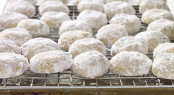 Mexican Wedding Cookies or polvorones