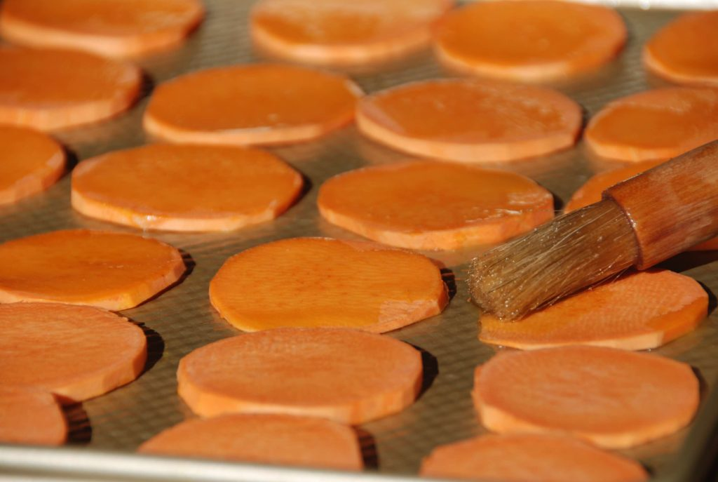 Sweet Potato Rounds with a Punch 2