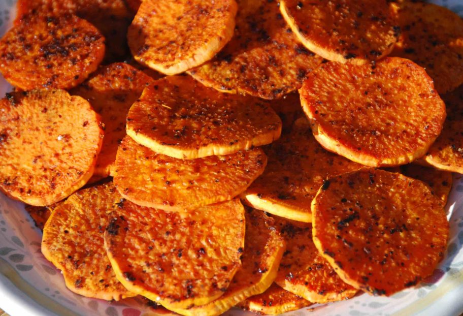 Sweet Potato Rounds with a Punch main