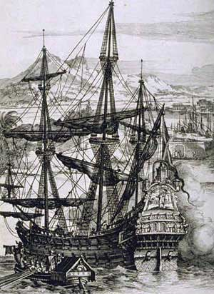 Spanish Galeon ship