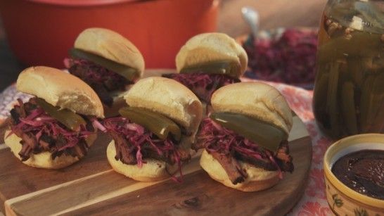 Beef Barbacoa Sliders