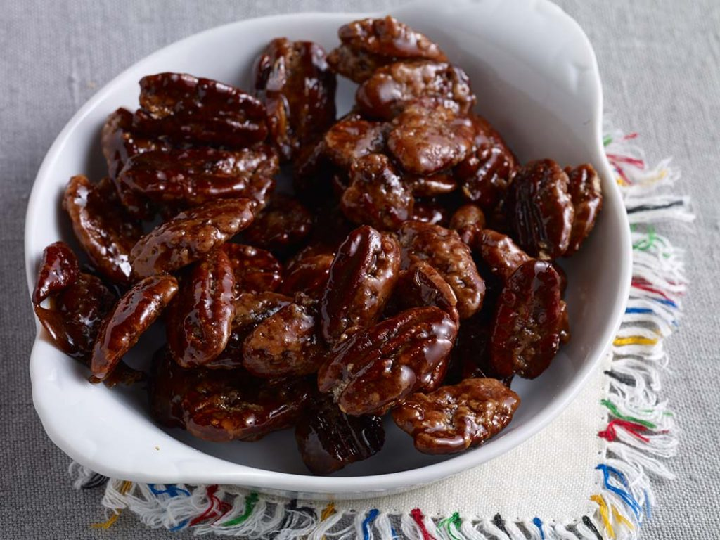 caramelized pecans recipe pati jinich