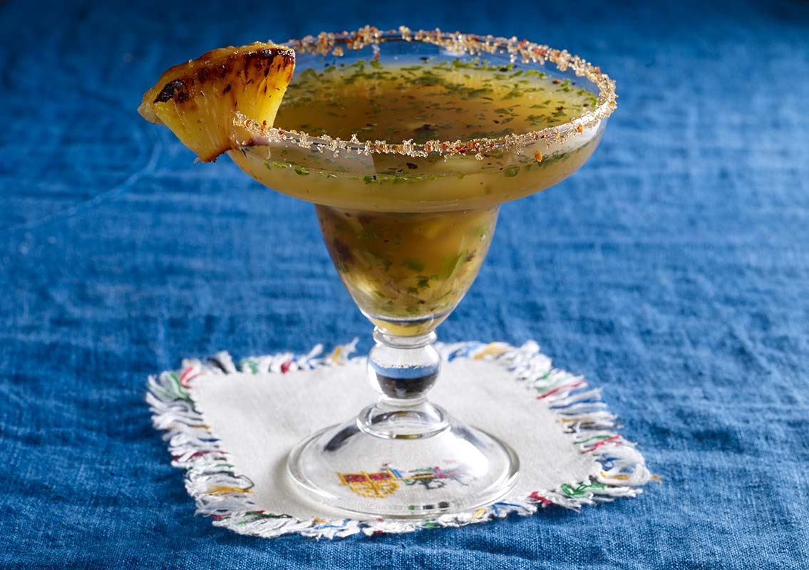 grilled pineapple margarita pati jinich