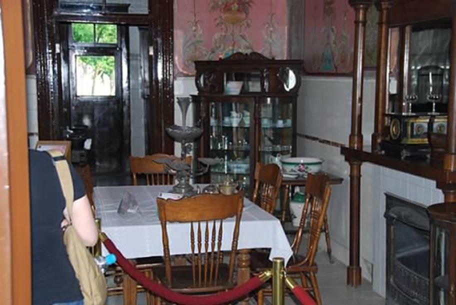 Pancho Villa's dining room