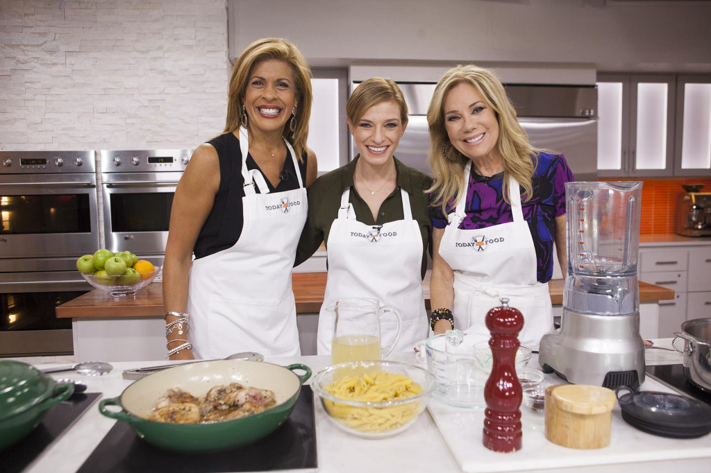 Pati with Hoda Kotb and Kathie Lee Gifford from the Today Show