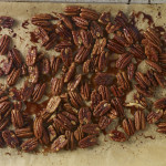 fast track caramelized pecans