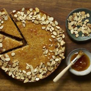 flourless almond porto cake