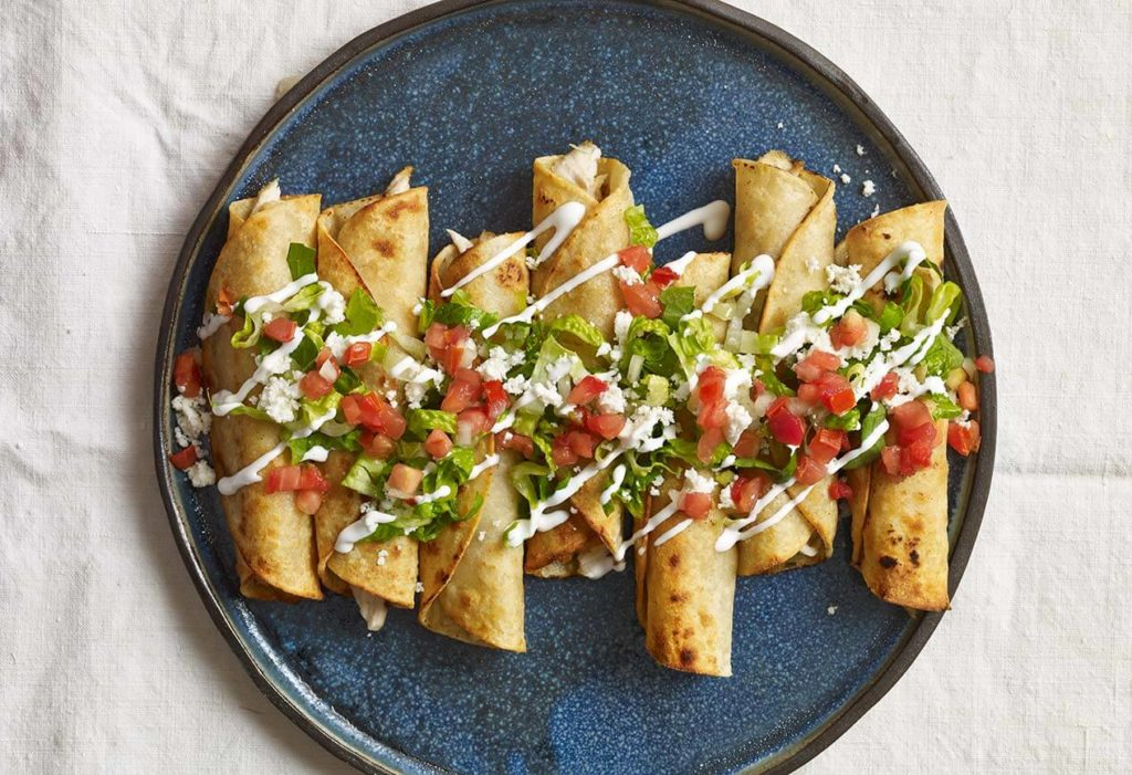 Pati Jinich Chicken Flautas recipe