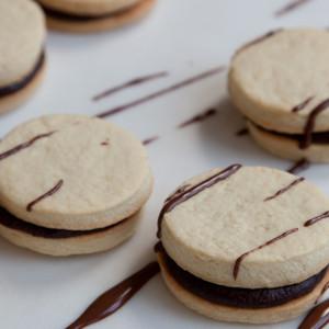 scribble cookies or garabatos