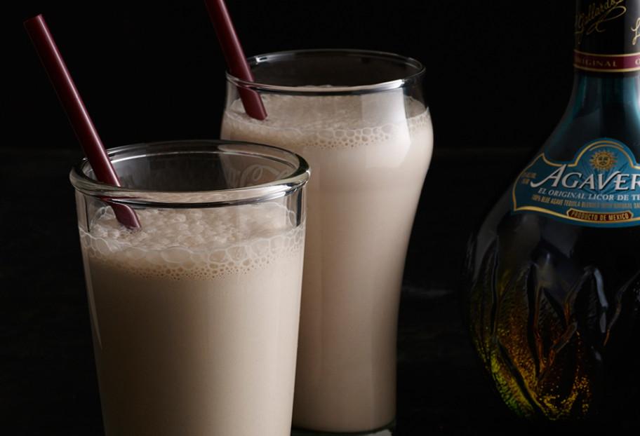 malted tequila milkshake