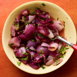 charred red onion salsa recipe