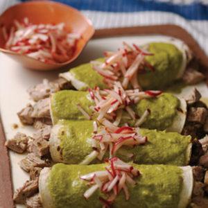 pork tenderloin enchiladas