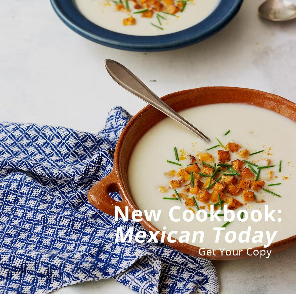 Pati Jinich Mexican Today Cookbook