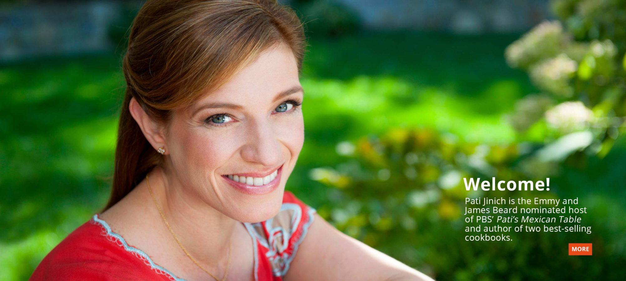 Pati Jinich is a Chef, Cookbook Author, and Host of Pati's Mexican Table
