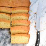Pati Jinich pan de arena or sand pound cake