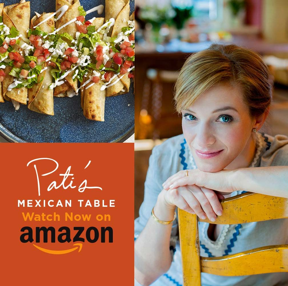 watch pati's mexican table on amazon video