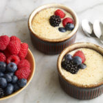 Pati Jinich natilla with fresh berries