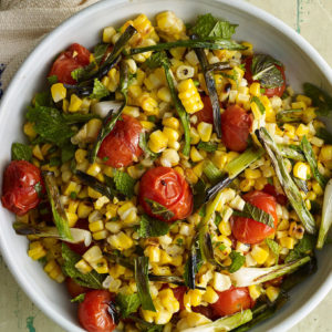 Pati Jinich grilled corn salad