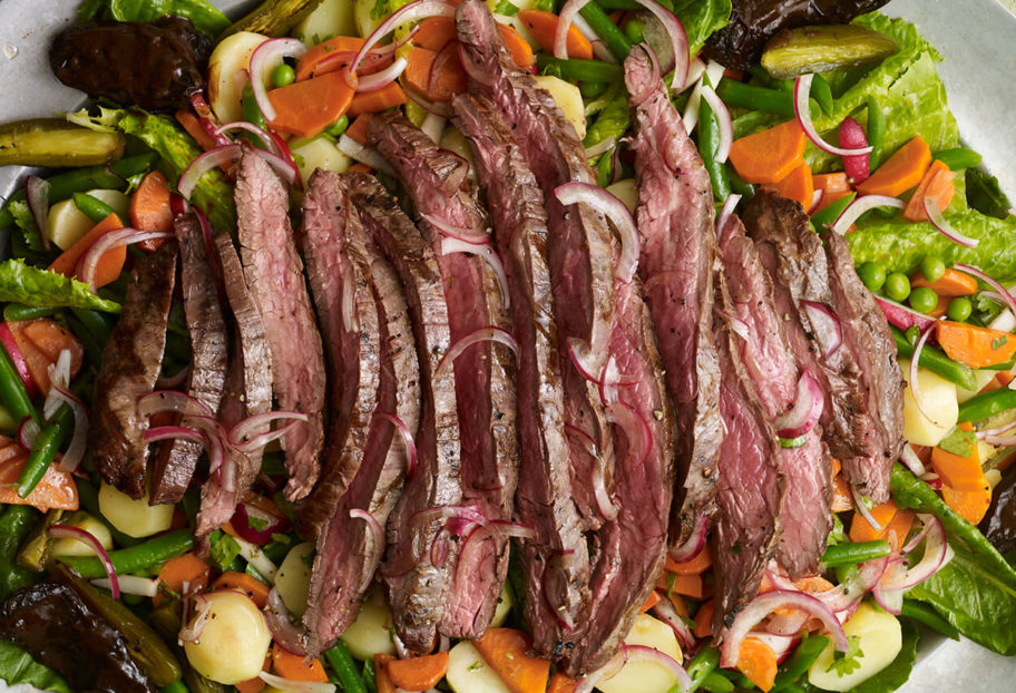 Mexican Grilled Steak Salad