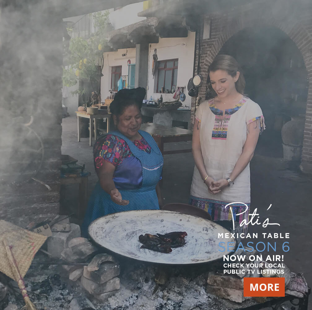 Find Pati's Mexican Table Season Six