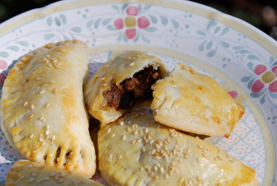 Pati Jinich picadillo empanadas of the immaculate conception