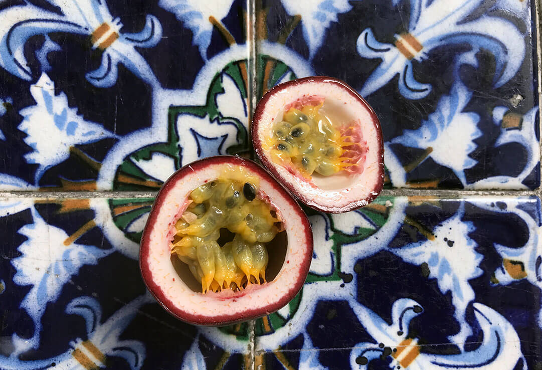 maracuya or passion fruit