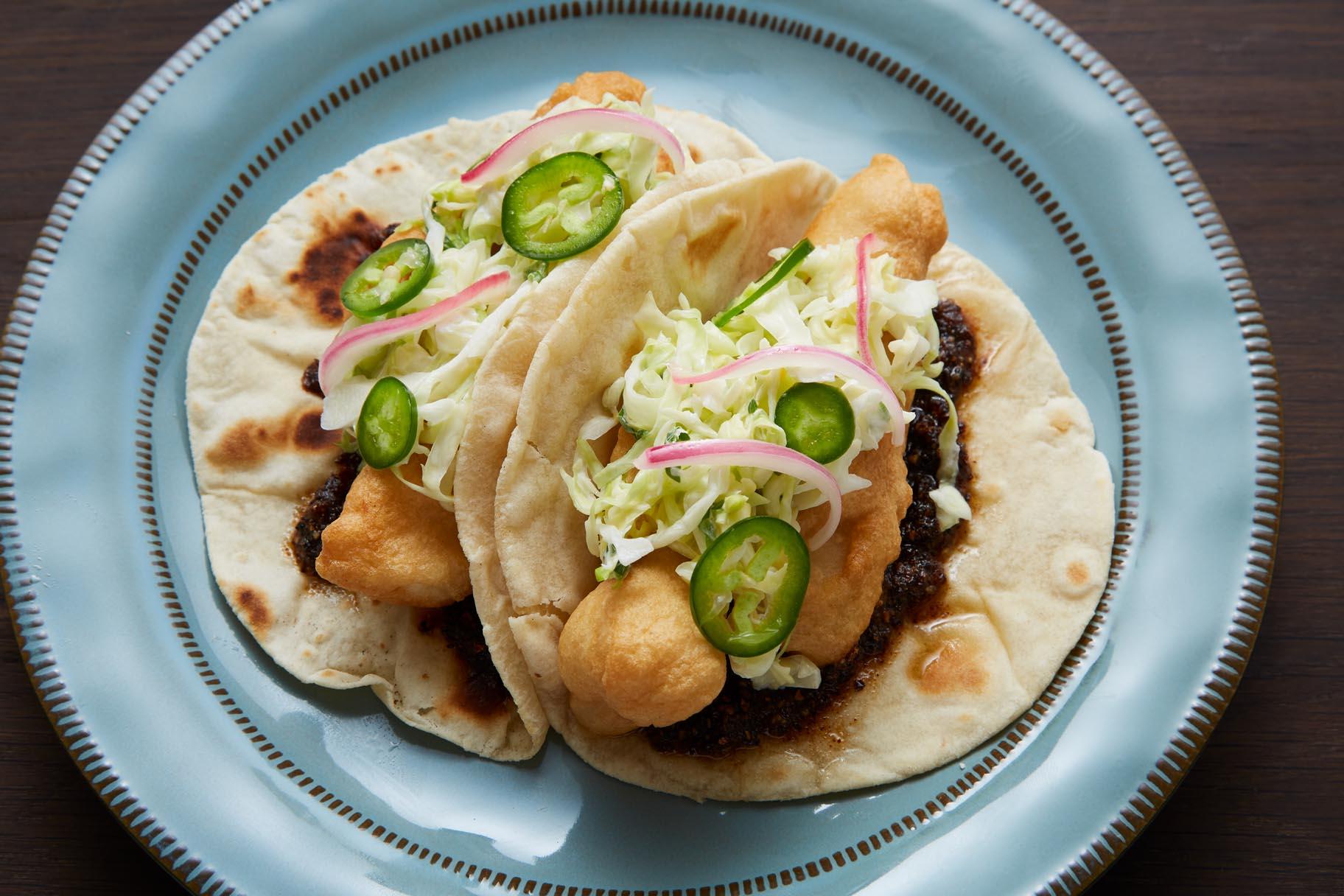 Cali-Baja Fish Tacos