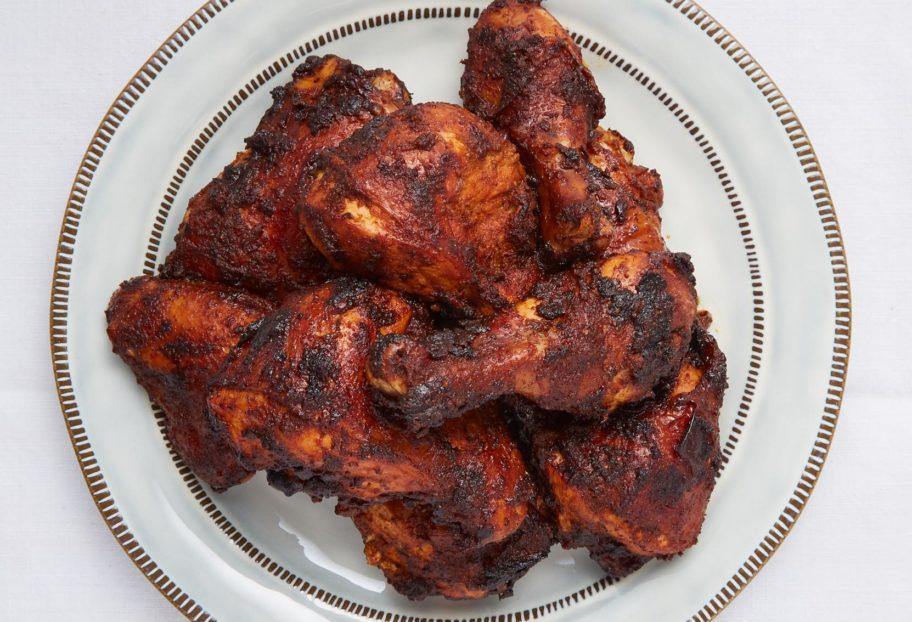 Garlic and Cumin Rubbed Chicken