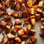 Jalapeño Garlic Crispy Potatoes