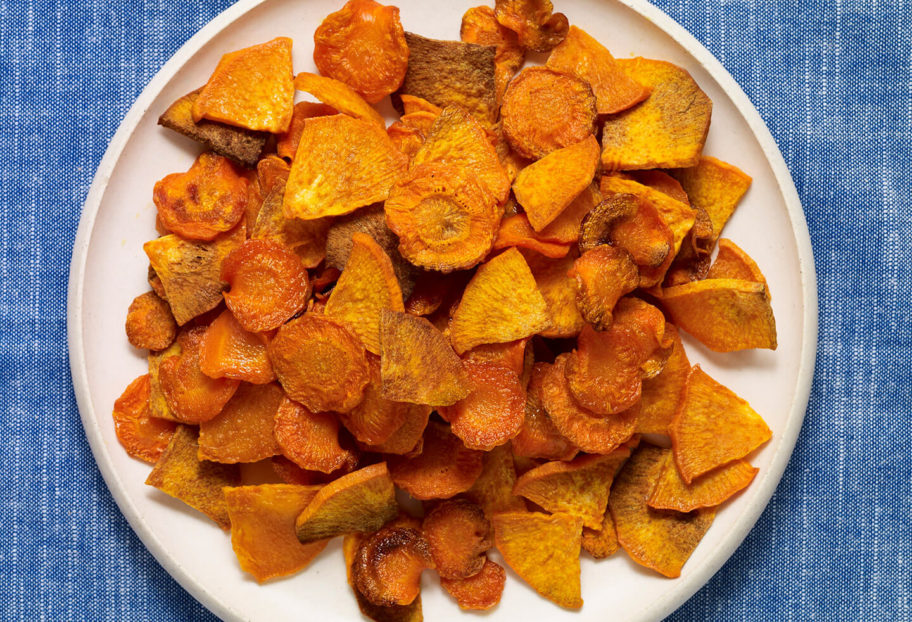 Carrot and Sweet Potato Oven Fries