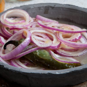 Pickled Red Onions A La Yucateca