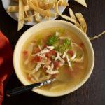 lima soup or sopa de lima