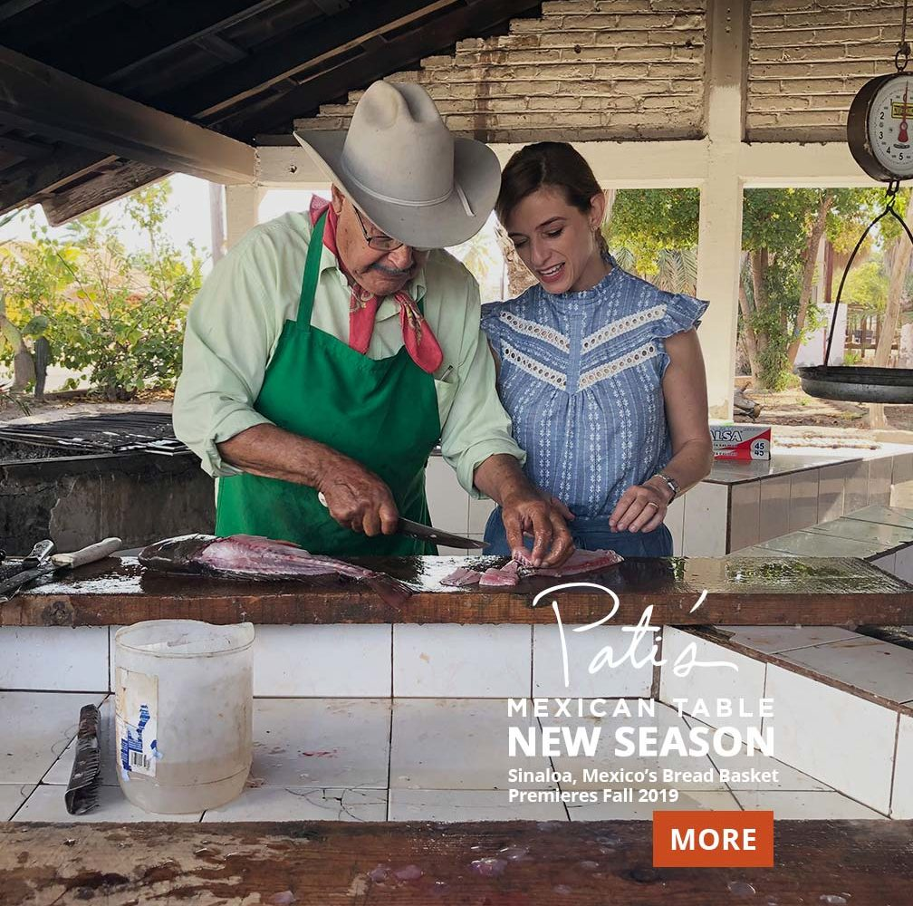 Pati's Mexican Table TV Show information & listings