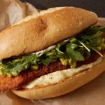 Milanesa Torta with Matador Guacamole and Melty Cheese