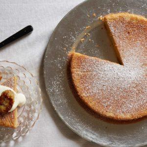 Chickpea Poundcake