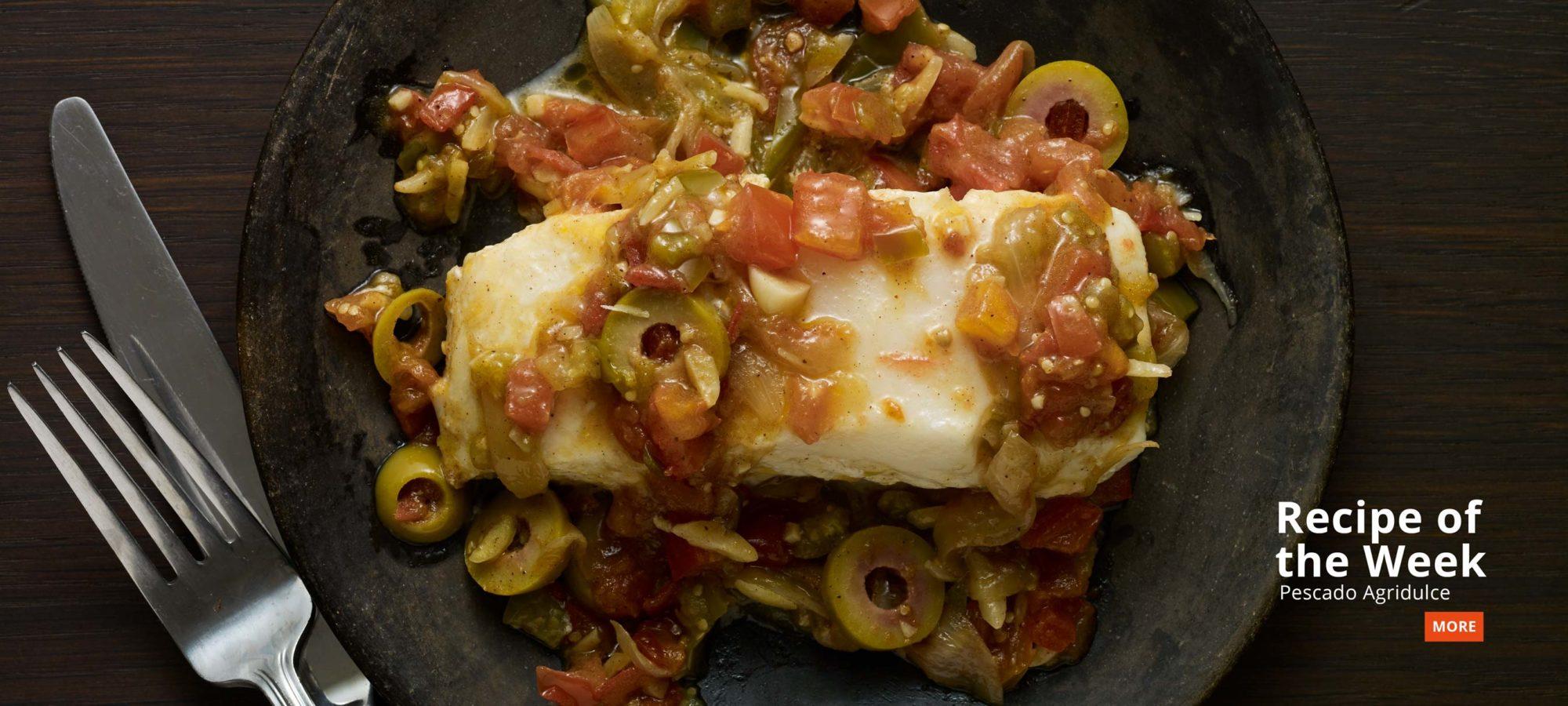 recipe of the week pescado agridulce