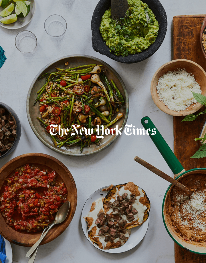 Pati's article on carne asada for The New York Times