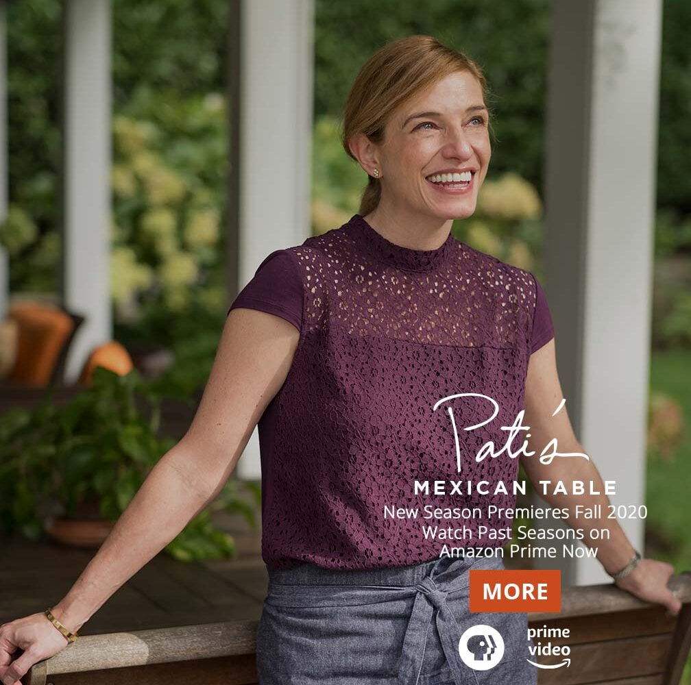 Watch Past Seasons of Pati's Mexican Table on Amazon Prime