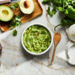 chile verde guacamole