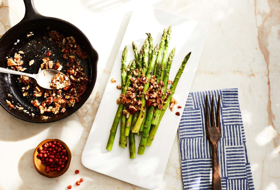 Asparagus with Chiltepin