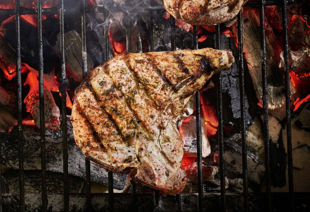 Chile Rubbed Pork Chop