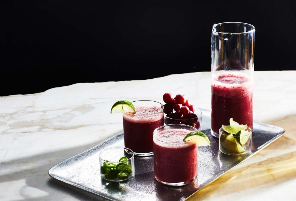 Watermelon Grape Margarita