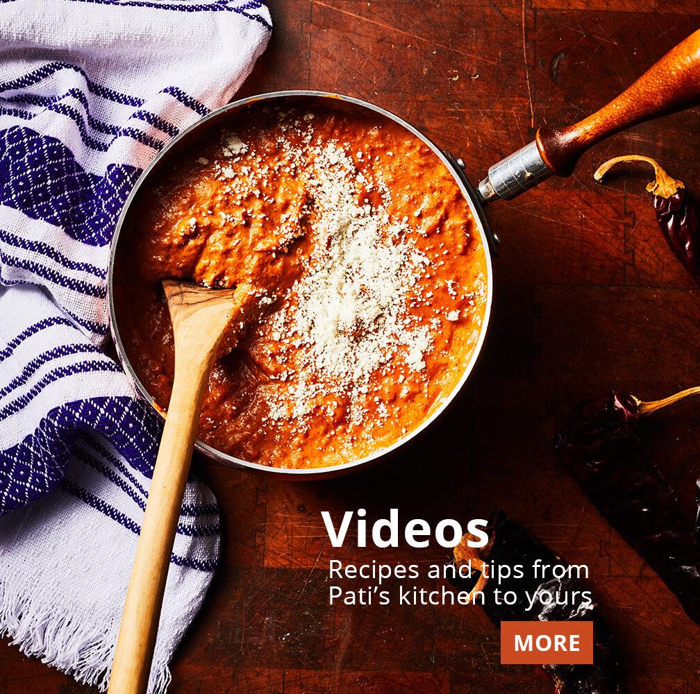 watch Pati Jinich's videos
