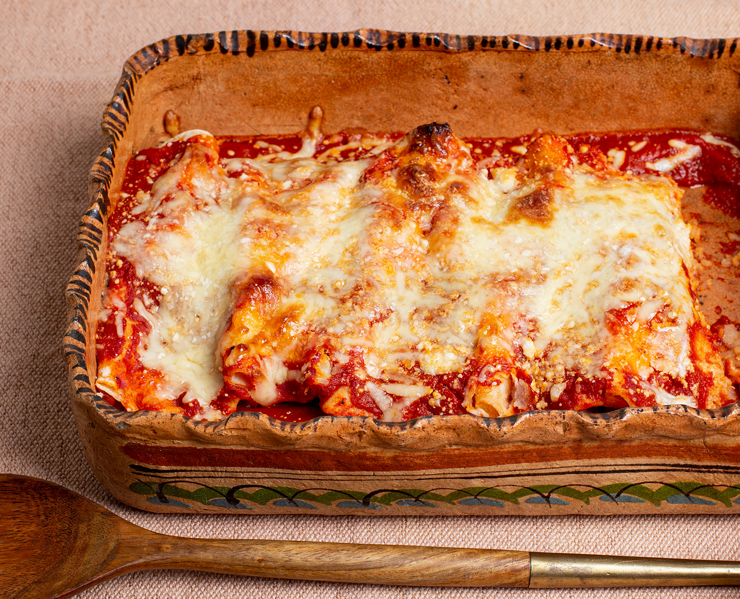 Three-Cheese Chicken Enchiladas
