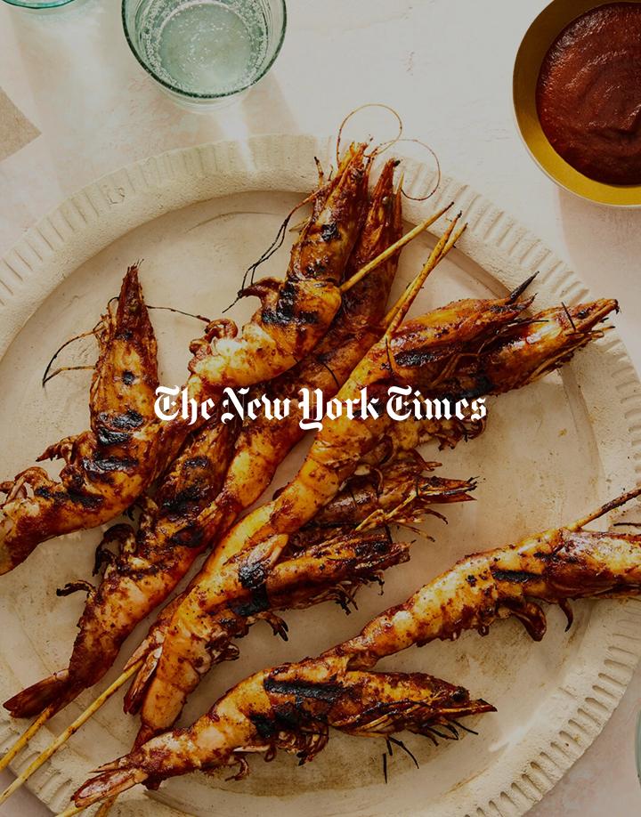 New York Times article on Camarones Embarazados