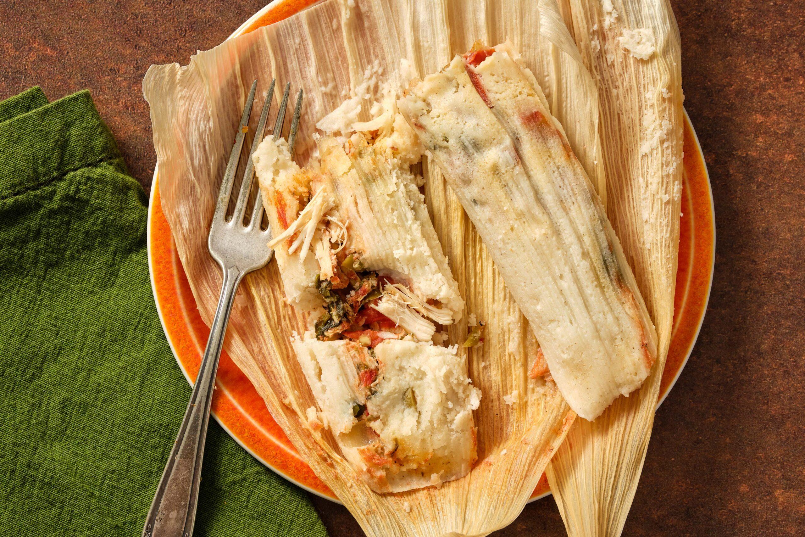 Jalisco-Style Chicken Tamales